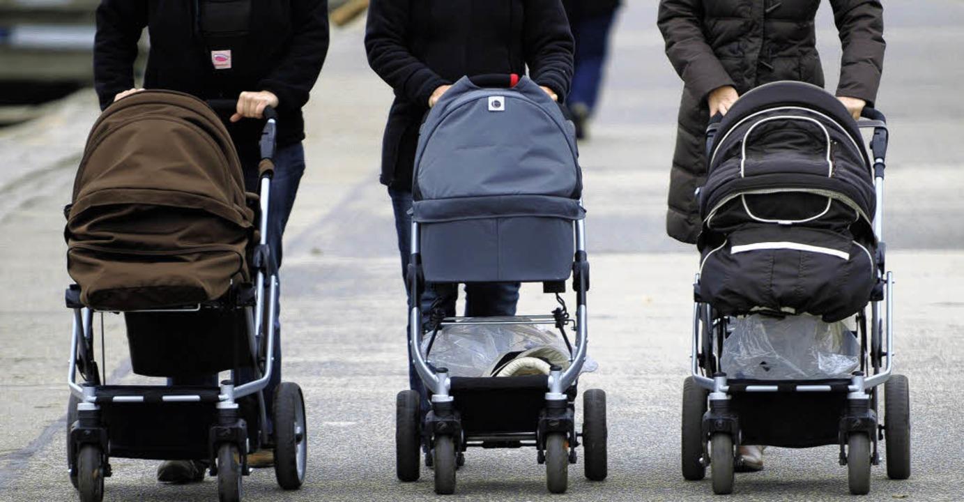 """Kinder werden zu einem """"knappen Gut"""".    Foto: dpa"""