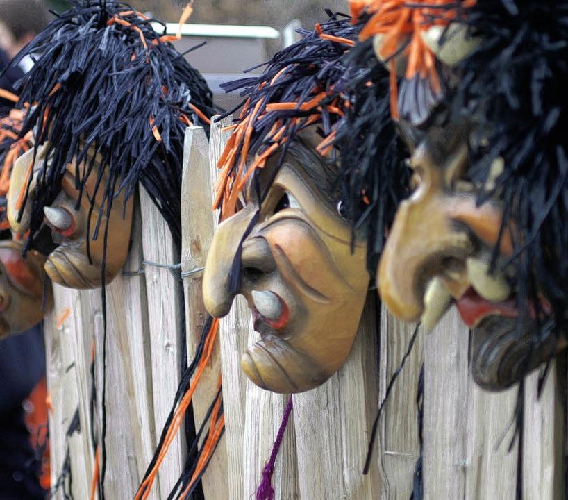 Die Masken haben Hochsaison.    Foto: Martin Danielsson