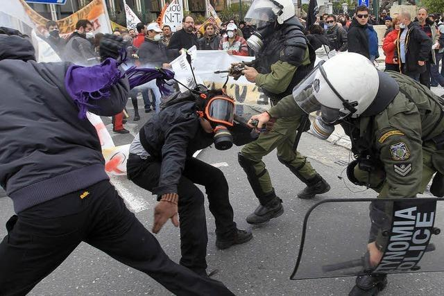Streiks lähmen Griechenland