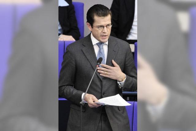 Abwiegelungsminister Guttenberg
