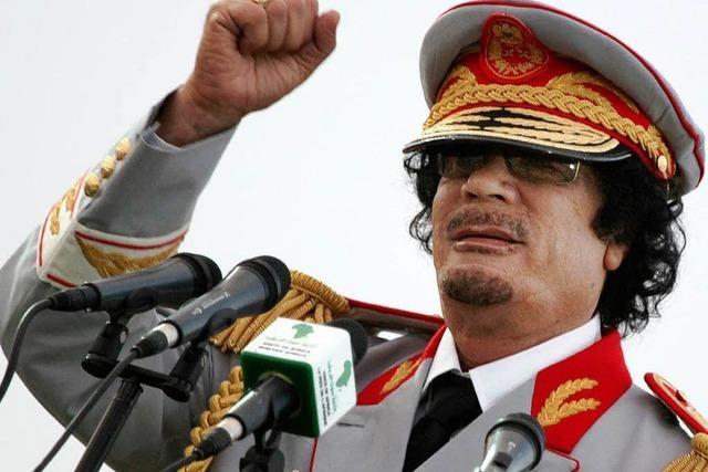 Volksaufstand in Libyen: Hat sich Gaddafi verschanzt?