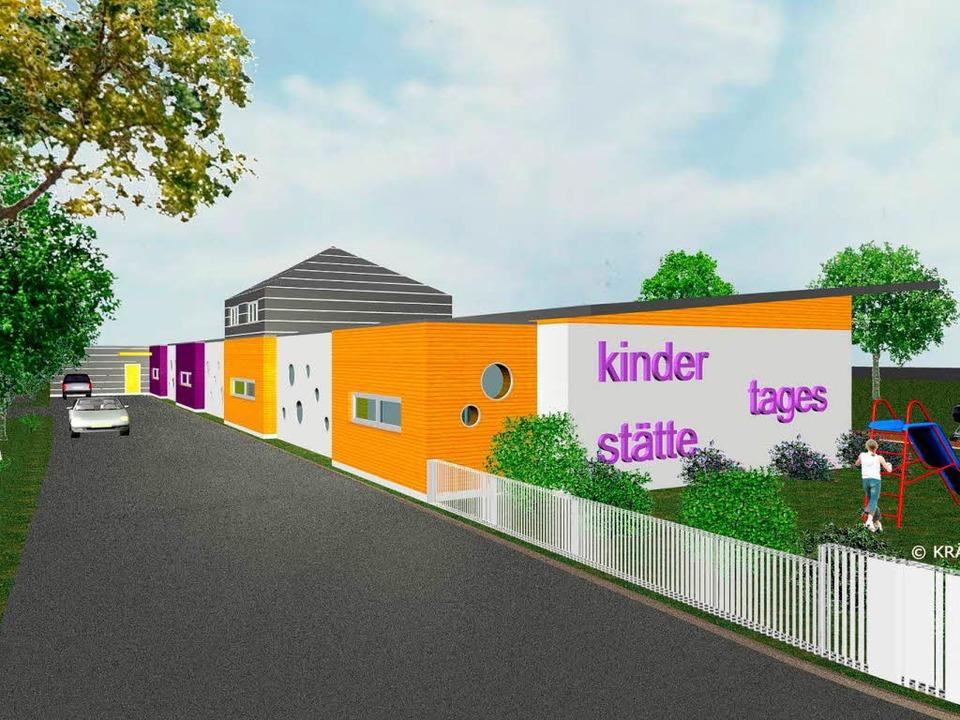 So soll der Kindergarten einmal aussehen.  | Foto: Landratsamt