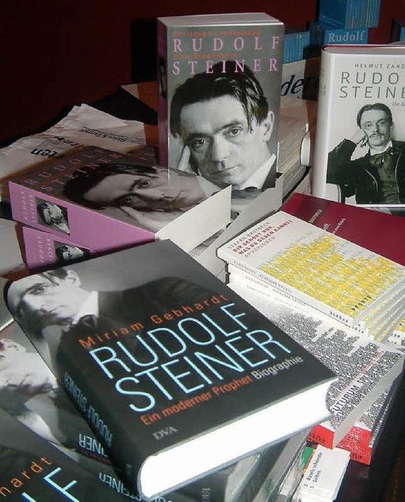 Gibt Stoff für Diskussionen: Rudolf Steiner, der Begründer der Anthroposophie   | Foto: Frey