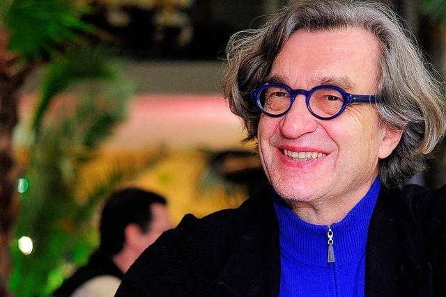 Wim Wenders in Freiburg über die Zukunft des Kinos