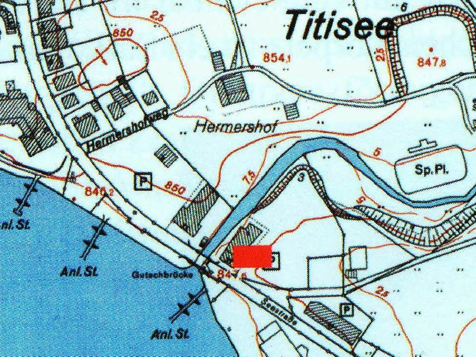 Der Fundort der Sarkophage in Titisee  | Foto: Archiv