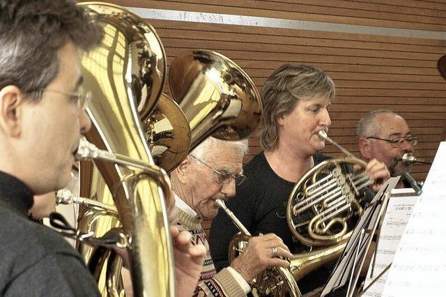 Trommel und Trompete, Flöte und Flügelhorn