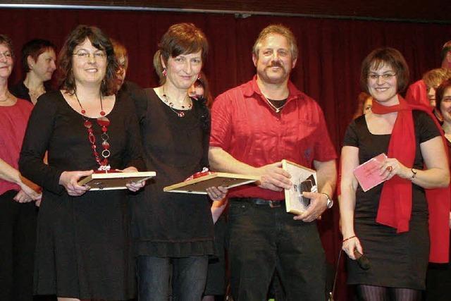 25 Jahre im Popchor Tannenkirch aktiv