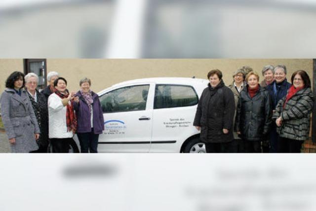 Neues Auto für die Sozialstation