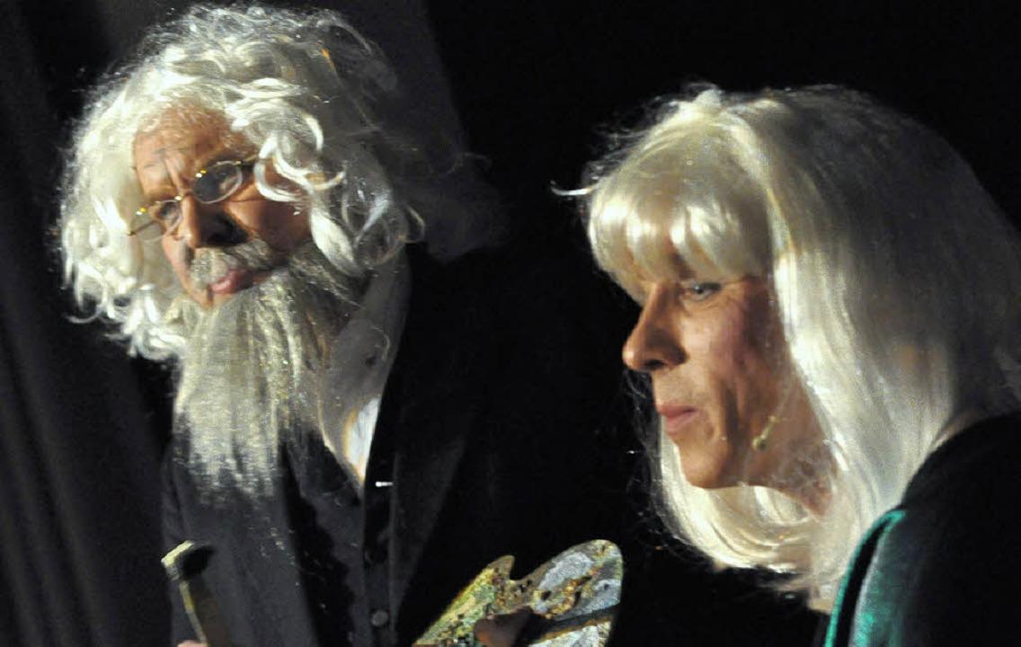 OB mit  Maler: Karl Heinz Sterzel, Stephan Vogt  | Foto: Barbara Ruda