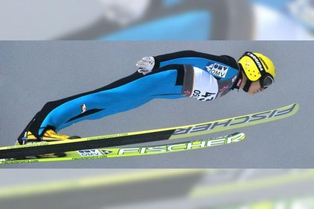 Skispringerinnen enttäuschen