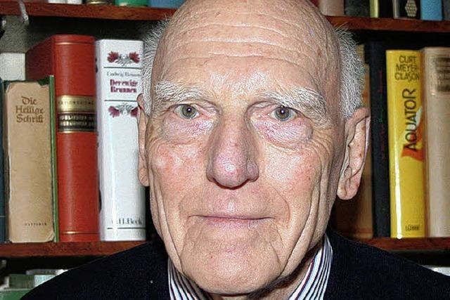 Paul Lendle 85 Jahre alt