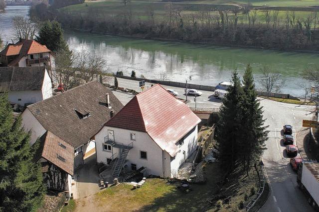 Die alte Hauensteiner Mühle steht jetzt unter Denkmalschutz