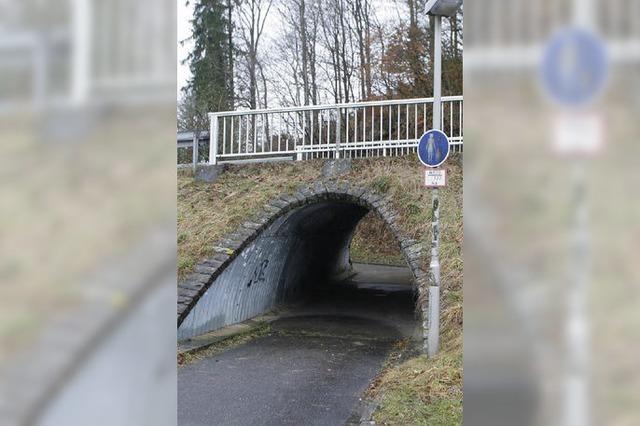 Ortschaftsrat will den Tunnel schließen