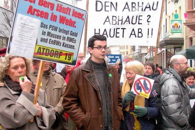 400 Atdorf-Gegner gehen auf die Straße