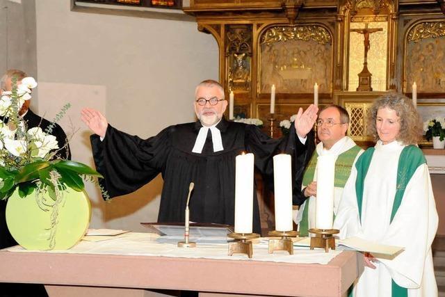 Kenzingen verabschiedet Pfarrer Schneider