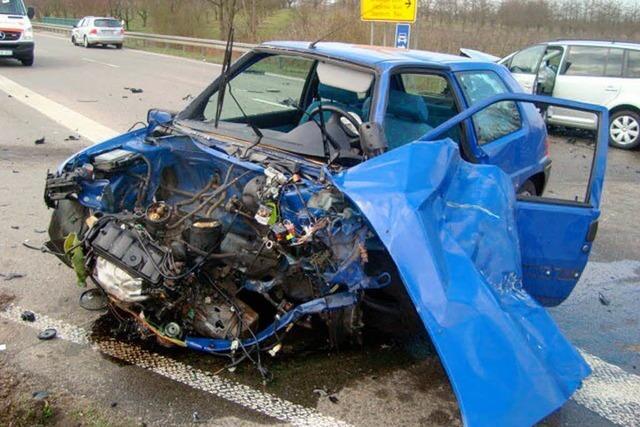 Schwerer Verkehrsunfall bei Oberkirch