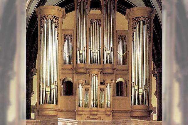 SONNTAG: KLASSIK: Die heitere Orgel