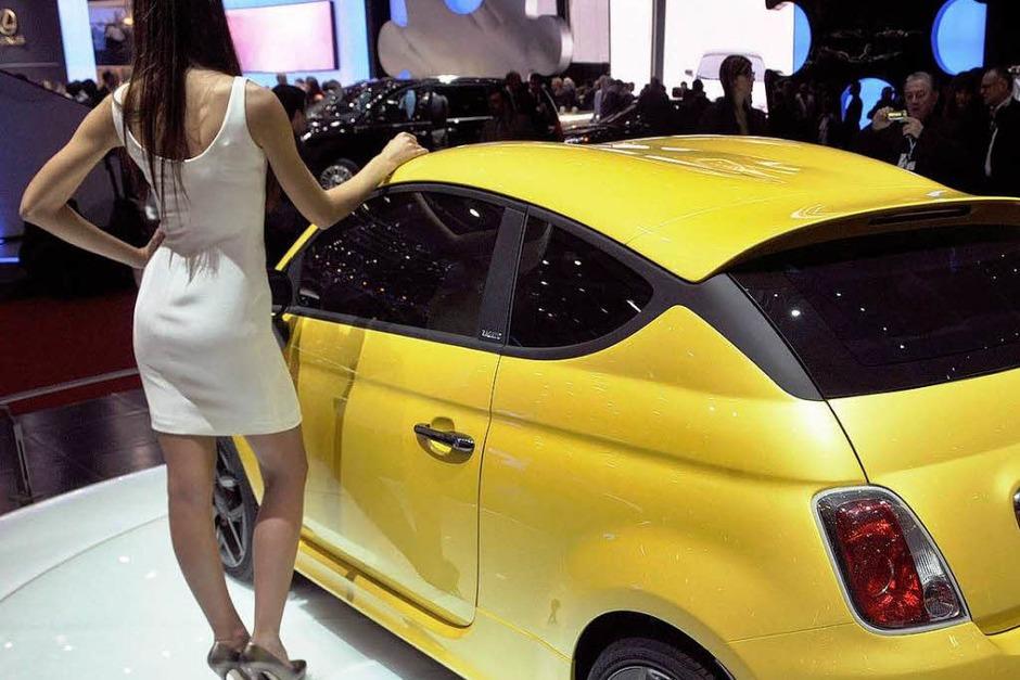 Fiat 500 Coupe (Foto: dpa)