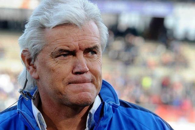KSC-Trainer Rapolder stolpert über Stinkefinger