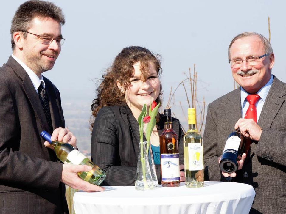 Neues rund um den Kaiserstühler Wein p...en), Weinprinzessin Natalie Henninger.  | Foto: Ilona Hüge