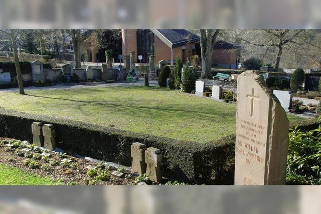 Neues Grabfeld wird zum Park