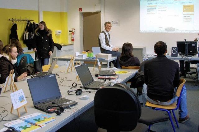 Neue Medien erobern Klassenzimmer