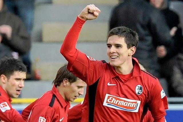 Für Flum hat der SC Freiburg in der Rückrunde nicht an Qualität eingebüßt