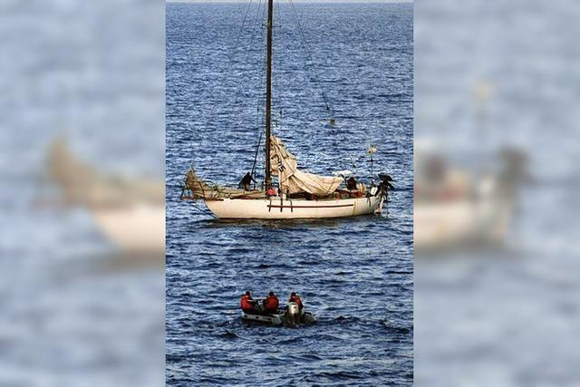 Piraten kidnappen dänische Familie