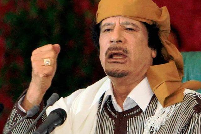 Gaddafi holt zum Gegenschlag aus