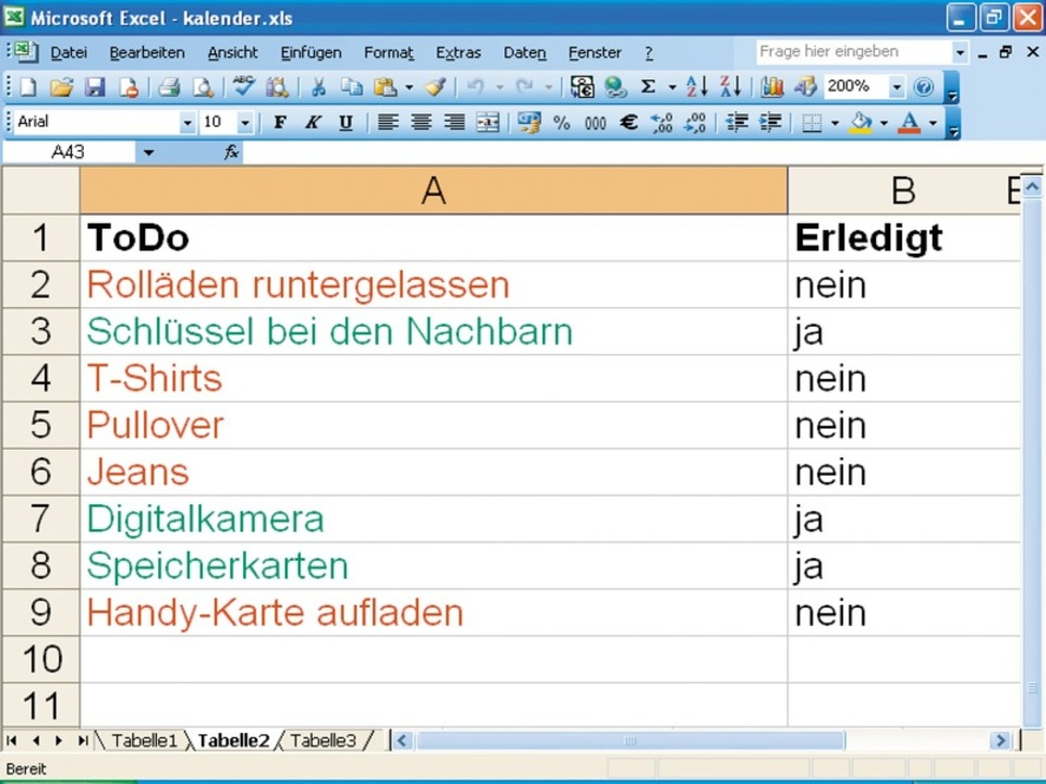 Pfiffige Tabellen mit Excel 2007 - Computer-News - Badische Zeitung