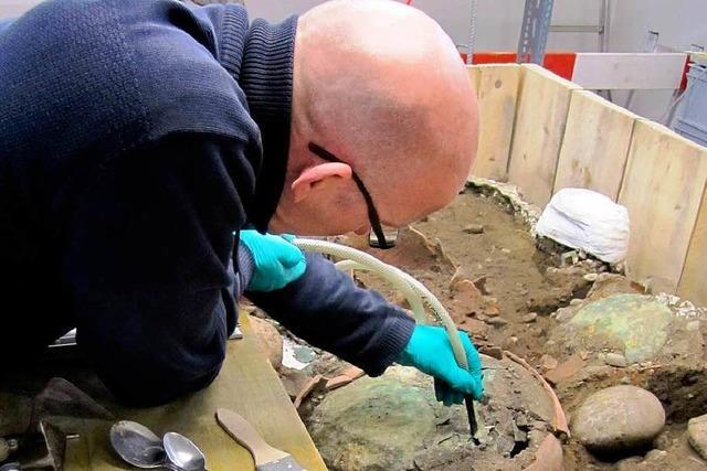 Basel: Archäologen legen Sensationsfund frei