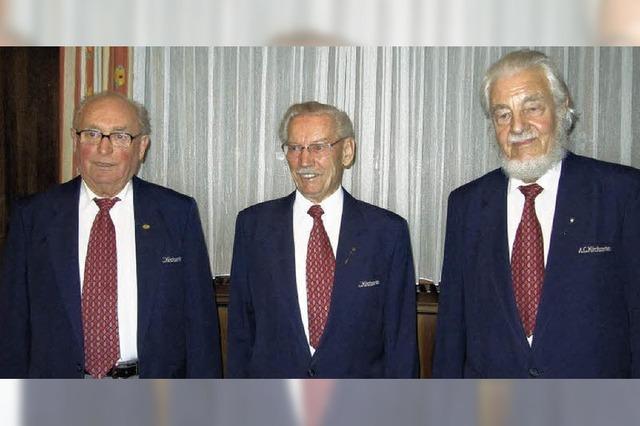 Hans Arens 60 Jahre dabei