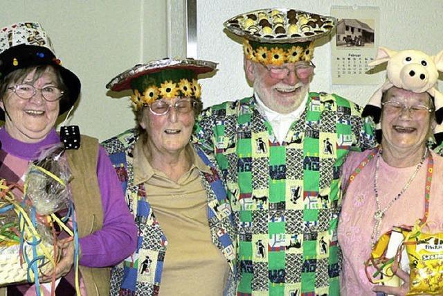 Preisgekrönte Seniorenhüte