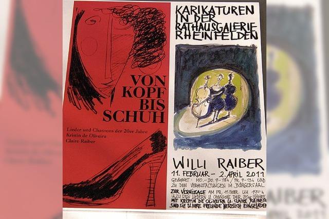 Karikaturen im Katalog