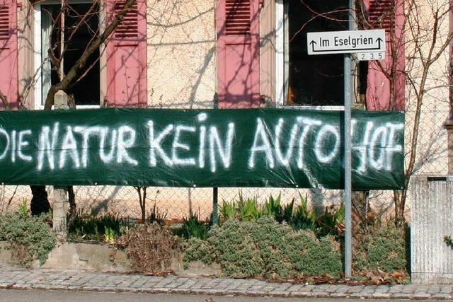 Initiative gegen Autohofpläne