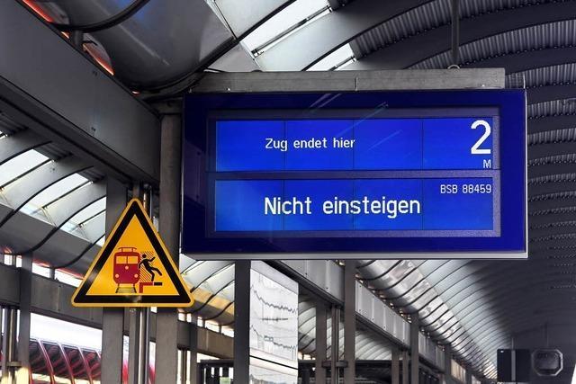 Dritter Warnstreik der Lokführer – Züge stehen bundesweit still
