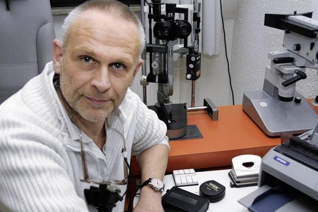 Eine Augenarztpraxis reicht nicht