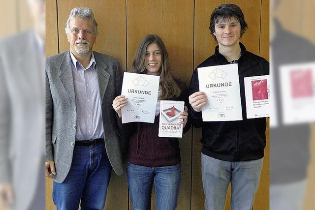 Preisträger der Mathematik