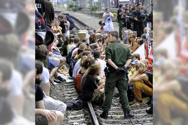 Verfahren gegen Gleisbesetzer: Ein zu gefährlicher Protest
