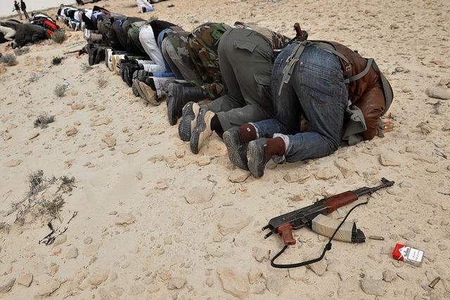 Blutige Kämpfe in Libyen