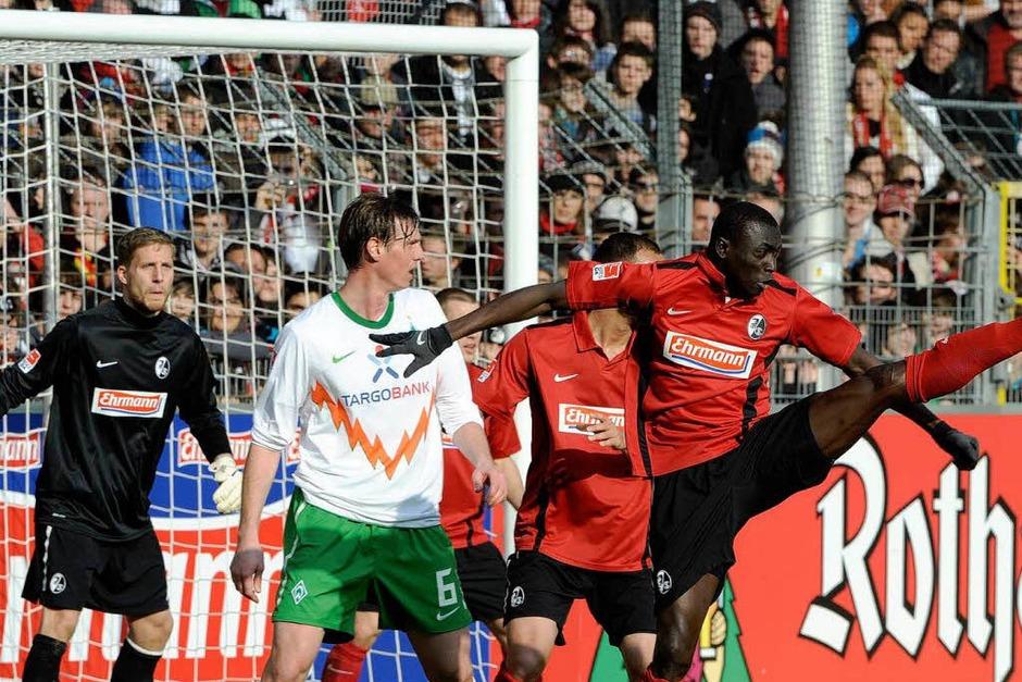SCc Freiburg verliert gegen Werder Bremen 1:3. (Foto: Achim Keller)