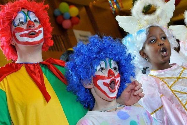 Fotos: Kinderball im Kolpingsaal