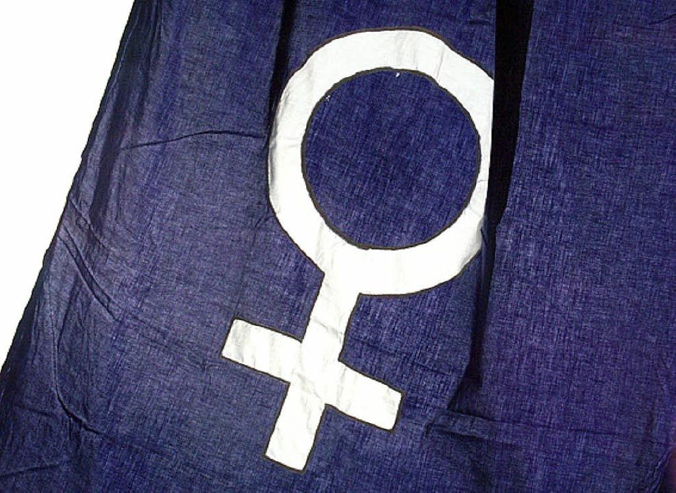 Ab morgen zeigen Frauengruppen  verstärkt Flagge.   | Foto: bz