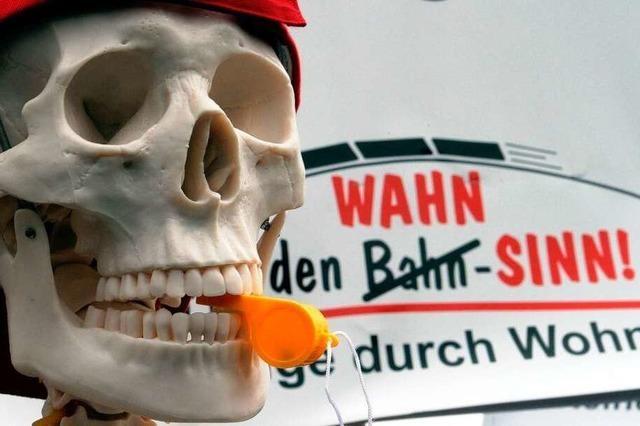 Bundestag berät über den Ausbau der Rheintalbahn