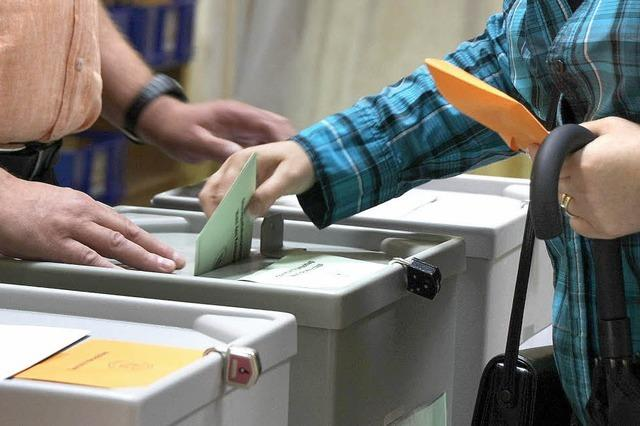Wahlbezirke verändert