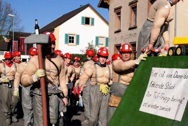 Fotos: Fasnet-Mändig im nördlichen Breisgau