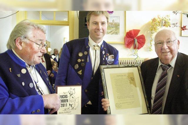 Dem Bundesverdienstkreuz noch eins oben drauf gesetzt