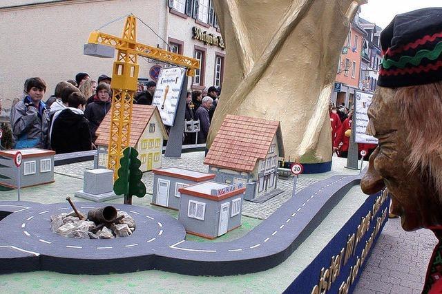 Stadtplaner und Sandkasten siegen