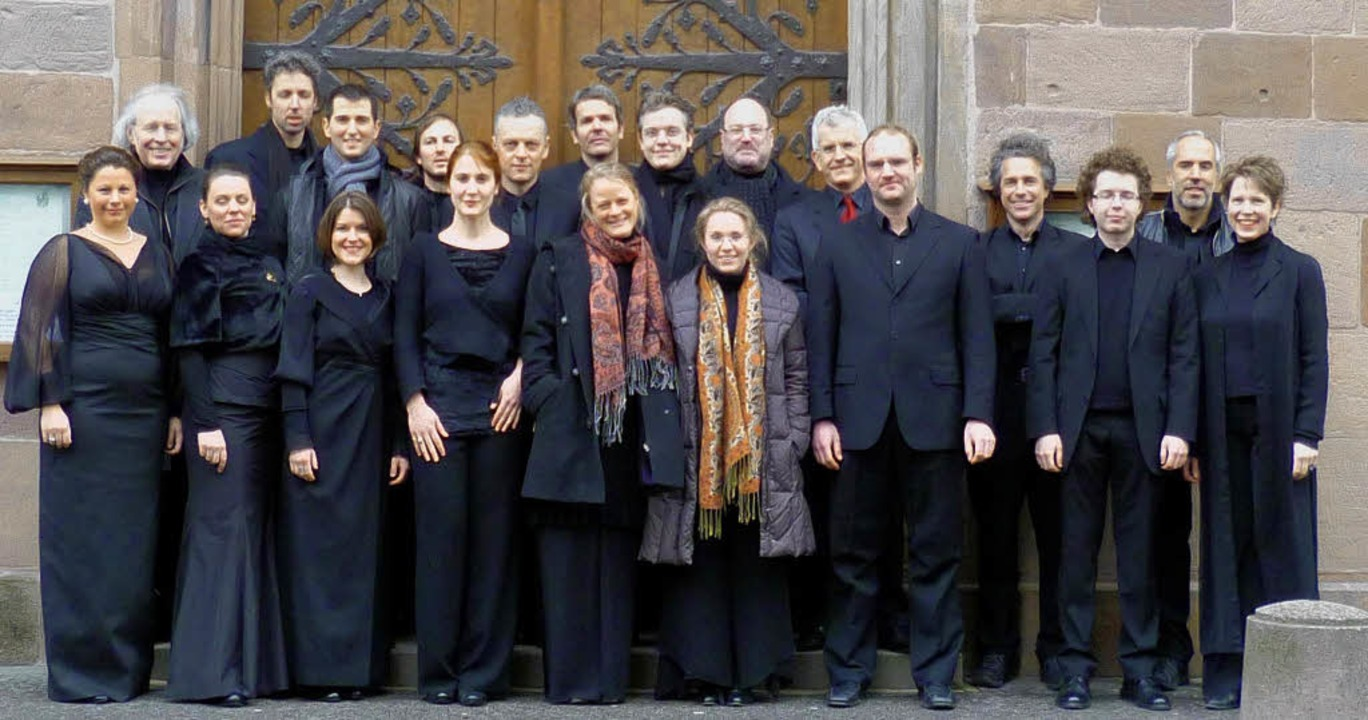Auf Christof Graupners Spuren: der Anton-Webern-Chor  | Foto: pr