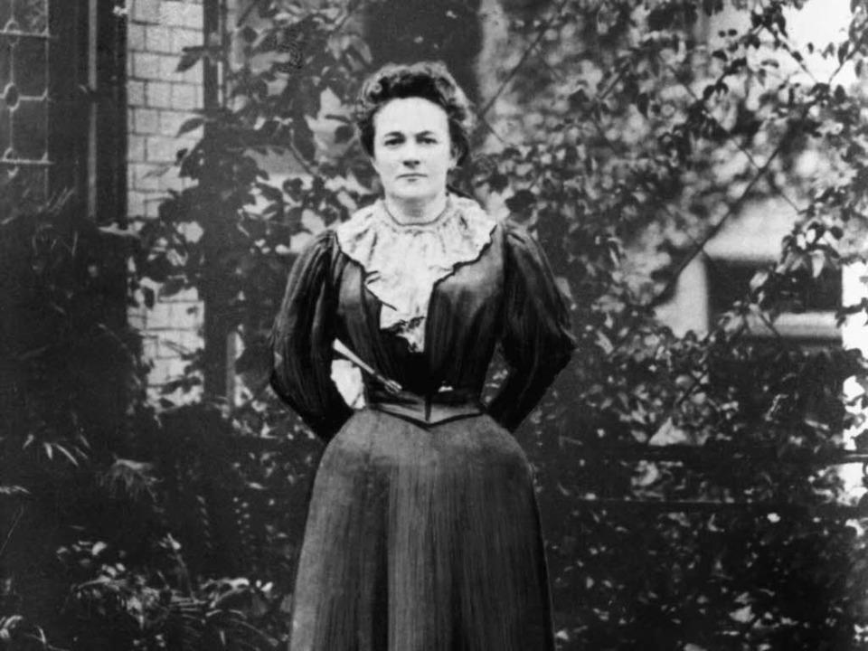 Die Politikerin Clara Zetkin hat den Frauentag im Jahr 1911 initiiert.  | Foto: dpa